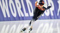 Martina Sábliková v nedělní závodě SP v Berlíně na 3000 m.