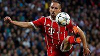 Franck Ribéry bude i nadále oblékat dres Bayernu Mnichov.