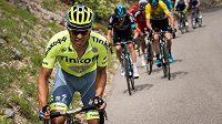 Španělský cyklista Alberto Contador.