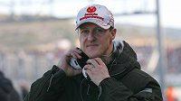 Michael Schumacher na archivním snímku z roku 2011.