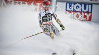 Ester Ledecká Super-G v Aare nedokončila.