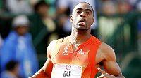 Americký sprinter Tyson Gay.