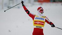 Norská běžkyně Marit Björgenová vyhrála i v třeskutém mrazu.