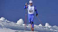 Lukáš Bauer při soustředění na dachsteinském ledovci.