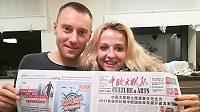 Mistři ČR v běhu na 24 hodin Kateřina Kašparová a Ondřej Velička. Co si přivezou z Číny?