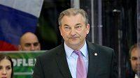 Prezident Ruské hokejové federace Vladislav Treťjak.