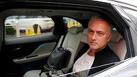 Předchůdce Solskjaera José Mourinho poté, co ukončil své angažmá v Manchesteru United.