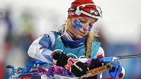 Česká biatlonistka Markéta Davidová si po nabitém olympijském programu neodpočine.