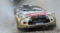 Sebastien Loeb během Argentinské rallye