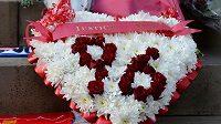 Připomínka úmrtí 96 fanoušků na stadiónu Hillsborough.
