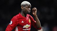 Paul Pogba z Manchesteru United