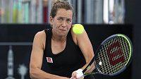 Tenistka Barbora Strýcová vypadla v Brisbane ve 2. kole.