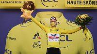 Vítěz Tour de France 2020 Tadej Pogačar.