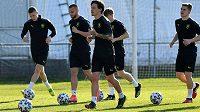 Čeští fotbalisté do 21 let se chystají na klíčový duel ME proti domácímu Slovinsku.