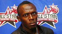 Trojnásobný medailista z OH v Londýně, sprinter Usain Bolt.