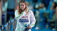 Mistryně světa a Evropy v plavání Maďarka Boglárka Kapásová se nakazila koronavirem.