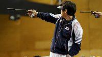 Korejský střelec Čin Čong-o obhájil v Londýně olympijský titul v libovolné pistoli