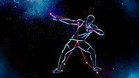 Usain Bolt nyní patří mezi hvězdy oválu i oblohy.
