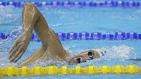 Americký plavec Michael Phelps během přípravy na OH v Riu.
