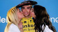 Vítěz závodu Kolem Baskicka, domácí cyklista Alberto Contador.