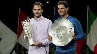 Rafael Nadal a Roger Federer stále patří mezi absolutní špičku