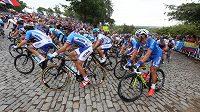 Cyklisté během loňského mistrovství světa.