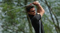 Golfista Ondřej Lieser.