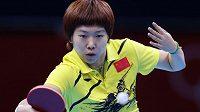Čínská stolní tenistka Li Siao-Sia