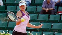 Karolína Plíšková na letošním grandslamovém Roland Garros