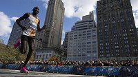 Keňský běžec Geoffrey Kamworor ovládl Newyorský maraton.
