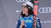 Italská lyžařská hvězda Federica Brignoneová.