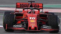 Ferrari díky Leclercovi ovládlo i druhý den testů F1 v Barceloně