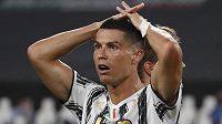 Cristiano Ronaldo nevěřil svým očím.