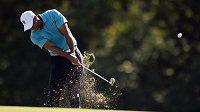 Americký golfista Tiger Woods na turnaji na Floridě.