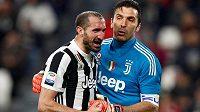 Dvě ikony Juventusu Turín - brankář Gianluigi Buffon a zadák Giorgio Chiellini mají smlouvu se Starou dámou i pro příští sezonu.