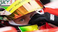 Závodník formule 2 Mick Schumacher