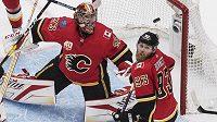 David Rittich na svůj debut v play off NHL nebude vzpomínat v nejlepším.