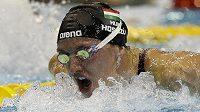 Maďarská plavkyně Katinka Hosszúová znovu měnila rekordní tabulky.