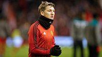Bastian Schweinsteiger se znovu připravuje s áčkem Manchesteru United.