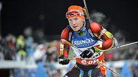 Biatlonista Ondřej Moravec skončil v úvodním závodu Světového poháru v Östersundu čtrnáctý