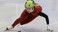 Nejúspěšnější čínská olympionička ze zimních her Wang Meng.