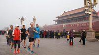 Mark Zuckerberg zbláznil do běhu sebe i ostatní. (Peking)