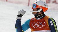 Švéd André Myhrer využil zaváhání největších favoritů a vyhrál olympijský závod ve slalomu.