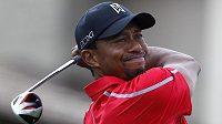 Slavný americká golfista Tiger Woods