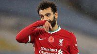 Útočník Liverpoolu Mohamed Salah měl pozitivní test na koronavirus.