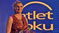 Oštěpařka Barbora Špotáková je opět Atletkou roku.