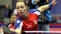 Stolní tenistka Dana Hadačová