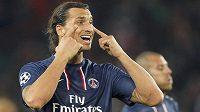 Zlatan Ibrahimovic z Paris St. Germain potvrdil i v duelu Ligy mistrů proti Dynamu Kyjev roli kanonýra