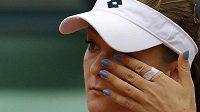Polka Agnieszka Radwaňská, třetí hráčka světového žebříčku WTA, se s Roland Garros rozloučila překvapivě už ve 3. kole