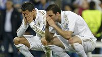 Obrovské zklamání prožívali bezprostředně po vyřazení v semifininále hráči Realu Cristiano Ronaldo a Gonzalo Higuaín.